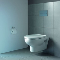 Duravit Basic Rimmless 37х54 с крышкой