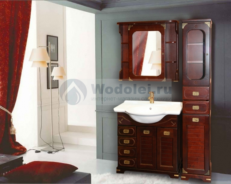 Купить ванную мебель водолей Акриловая ванна Акватек Леда
