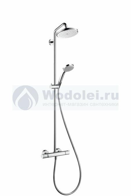 Фото Душевая панель Hansgrohe Showerpipe 27185000
