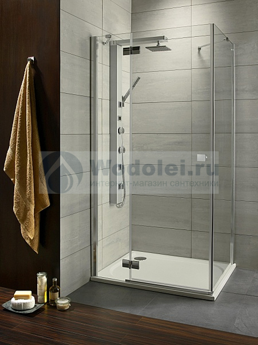 Фото Душевой уголок Radaway Almatea Gold KDJ 90x80 transparent L