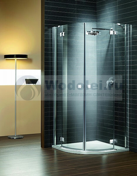 ���� ������� ������ Radaway Almatea Gold PDD/E 100x80 transparent