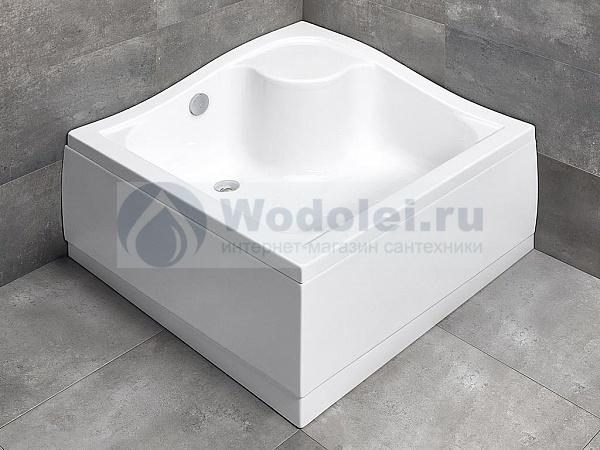 Поддон для душа Radaway Korfu С800 серебряная мебель для ванной