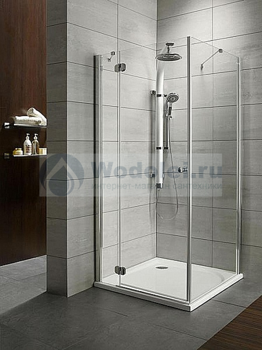 Фото Душевой уголок Radaway Torrenta KDJ 100x75 transparent L