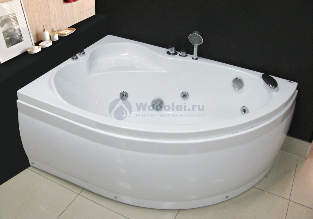 Royal Bath Alpine 160x100 L/R