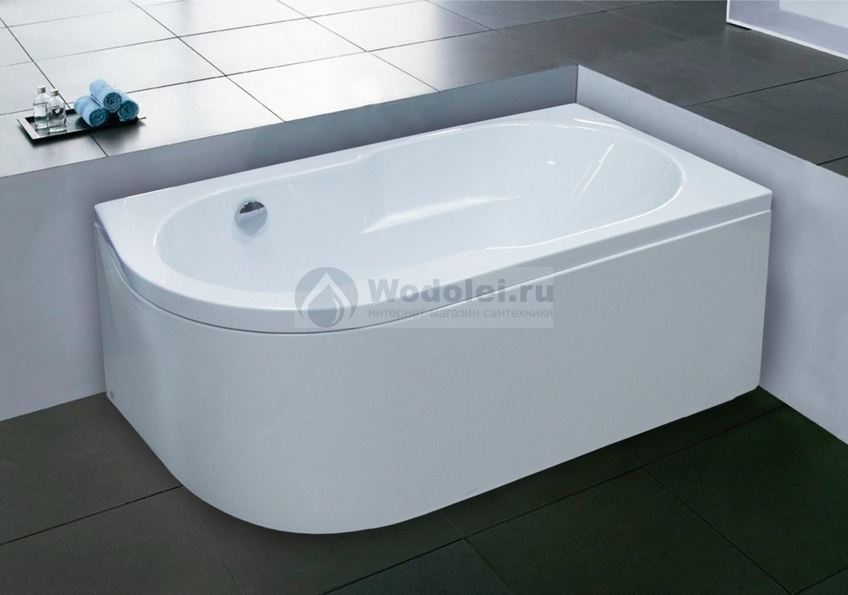 Фото Ванна Royal Bath Azur 140x80 R