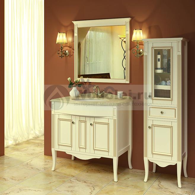 мебель для ванной Timo Aura 90 M R Avorio Bronze